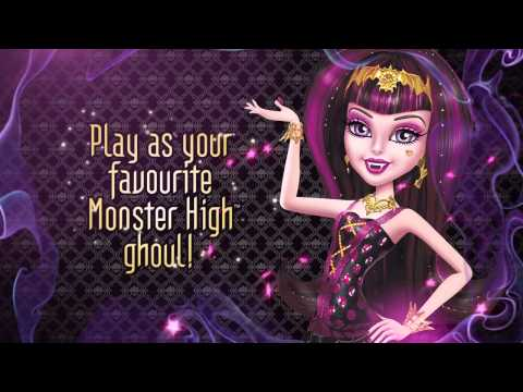 ♥ Monster High 13 Wishes - Walkthrough PART 1 Intro & Desert Oasis (Official Video Game)