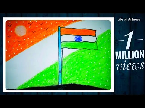 How To Draw Republic Day Drawing Easy Republic Day Drawing