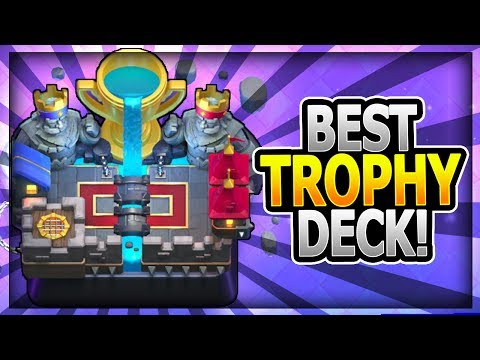 Thumbnail: BEST LADDER DECK for TROPHIES? HIGHEST WIN % for LADDER - Clash Royale