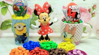 Minnie and her surprises in a lot of sweets