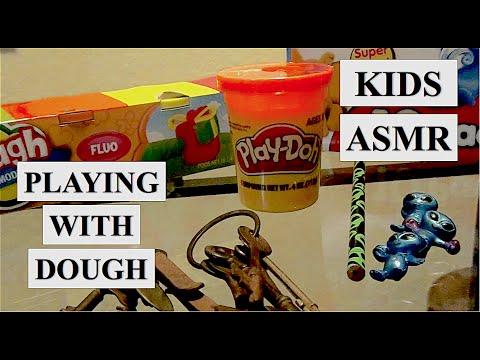KIDS ASMR: Play Dough | NAMASTE CC ॐ
