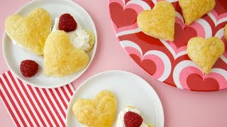 Puff Pastry Heart: Valentine's Day Dessert For Kids - Weelicious