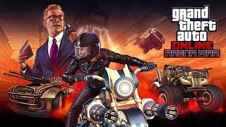 LEAK DLC ARENA WAR GTA ONLINE