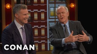 Will Ferrell & John Lithgow's Off-Camera Kisses  - CONAN on TBS thumbnail