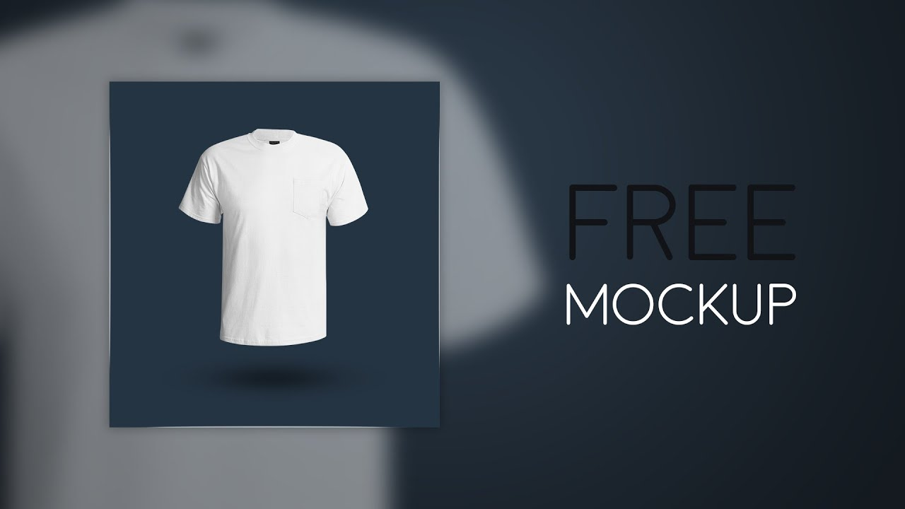 Mockup T Shirt Free Download Youtube