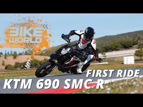 2019 KTM 690 SMC R First Ride Review