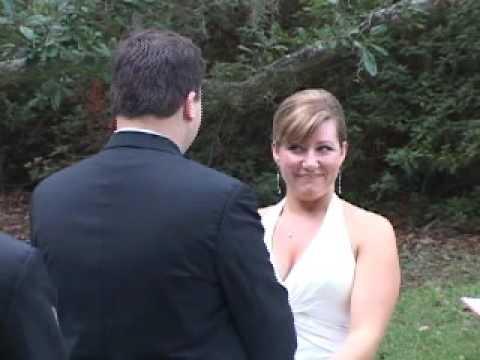 Carolina Video Events Outdoor Sample Wedding Ceremony