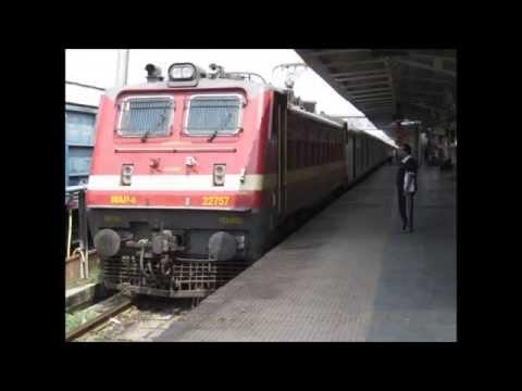 Mumbai Howrah Duronto Express Full Journey: Bilaspur-Howrah