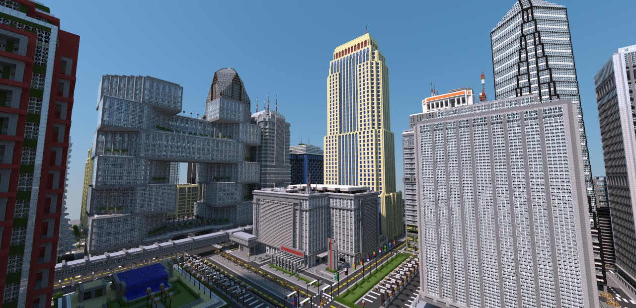 City Buildings In Minecraft