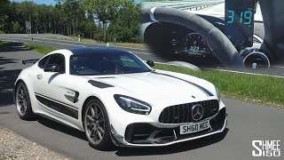 My AMG GT R Pro TOP SPEED VMAX DRIVE! 319km/h 198mph