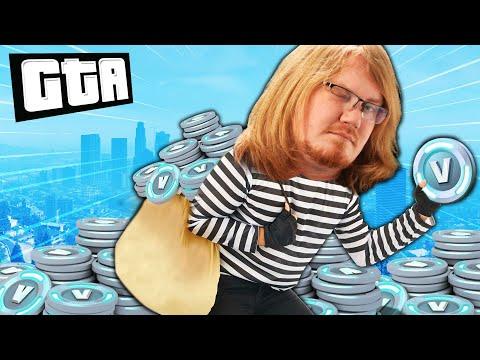 WE'RE COUNTERFEITING V-BUCKS! | GTA 5