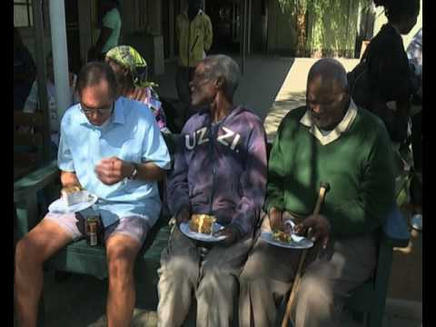 President Hage Geingob spends birthday at Katutura Old Age Home - NBC