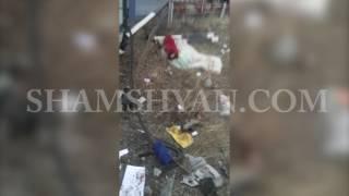 Ավտովթար Շիրակի մարզում  Վրաստանի քաղաքացին բեռնատարով կողաշրջվել է