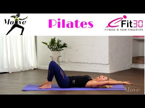 Pilates basic, core training for beginners, 10 min with Wendi Carroll by Move 123