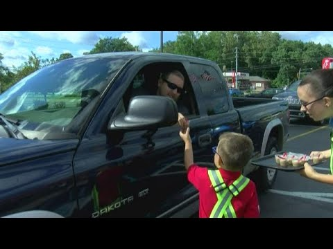 Fisher - So Sweet! 5 Year-Old Boy Gets Dream Job Of Working At Chic-Fil-A For A Day