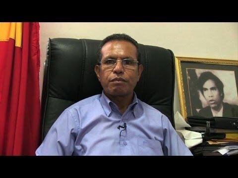 Interview with East Timor President Taur Matan Ruak