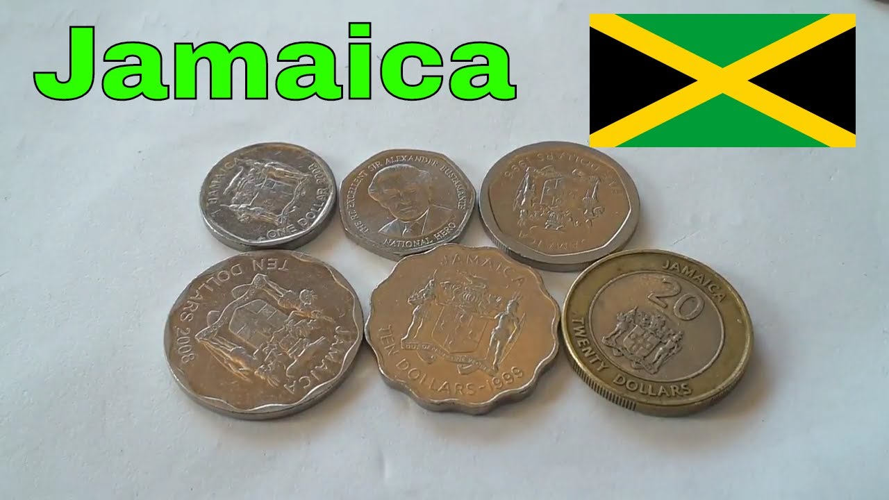 Cur Beautiful Jamaican Coins