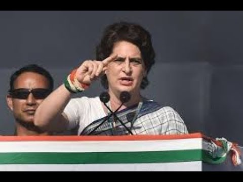 Smt. Priyanka Gandhi Vadra addresses a Public Meeting in Bathinda, Punjab
