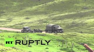 Nagorno-Karabakh: Are Azerbaijani forces digging trenches along line of engagement?