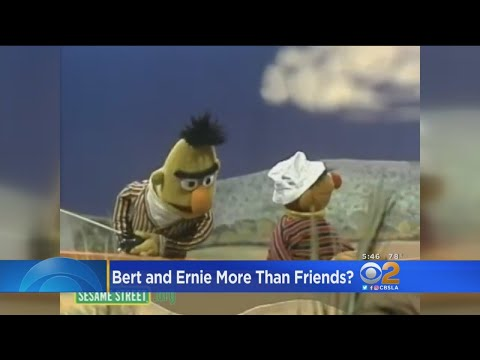 Former 'Sesame Street' Writer Says Bert And Ernie Are Gay Couple; Show Denies