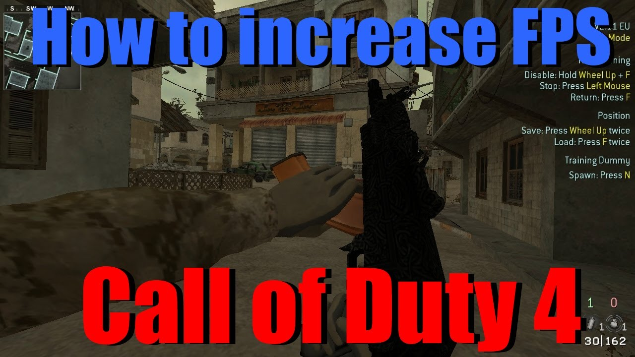 How to increase your fps on CoD4 PC (Yitch3 cfg)