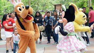 Final Bunny Hop Dance at Disneyland