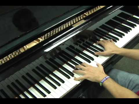 Lil Wayne ft. Bruno Mars- Mirror- Piano Cover
