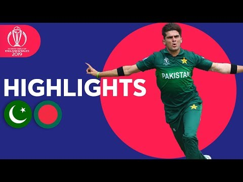 Pakistan vs Bangladesh | Match Highlights | ICC Cricket World Cup 2019
