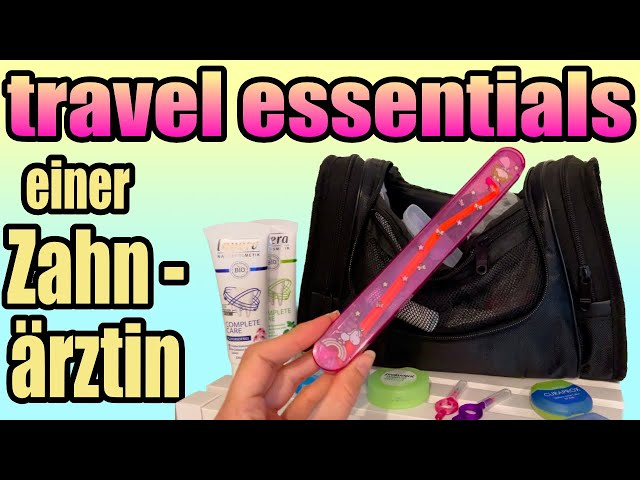 Meine Zahnpflegeprodukte auf Reisen als Zahnärztin | DoctorAmi