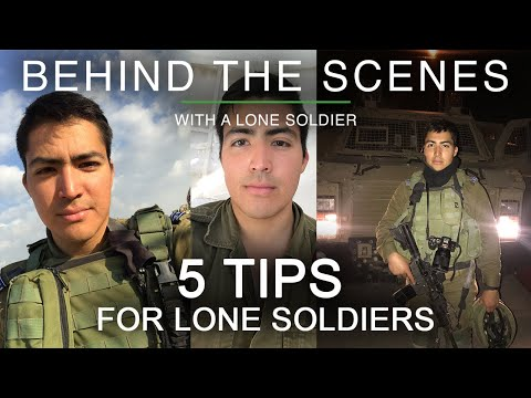 5 Tips For IDF Lone Soldiers