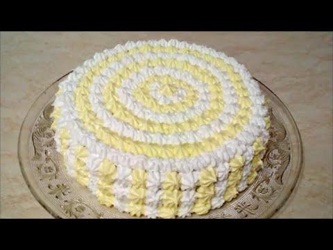 Украшаем торт кремом Торт рецепт Вкусный и красивый торт с черносливом и грецкими орехами
