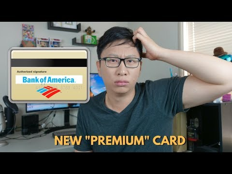 New Bank of America Premium Rewards Card: Have $100,000?