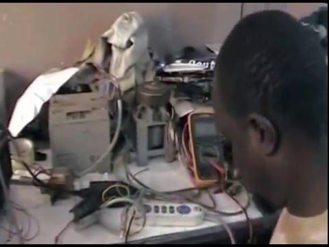 20.El hadji Thiam à Touba Sénégal Créations Courant en continu sans hydrocarbure   le 10/11/2007