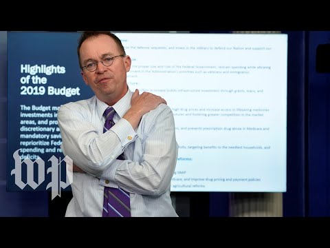 Mulvaney testifies on the White House budget plan proposes