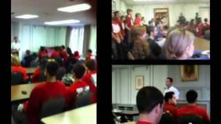 Boycott Israel! Students Protest Vs. IDF War Criminals Soldiers Campus Visit