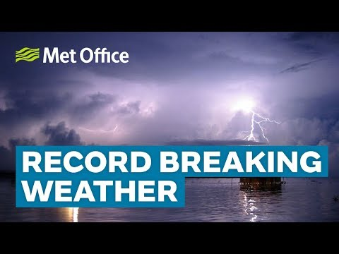 Record breaking weather