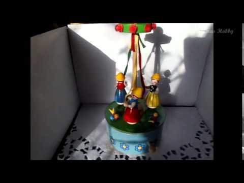 LICHTENSTEINER POLKA   Kinder Reigen  Box Spieluhr