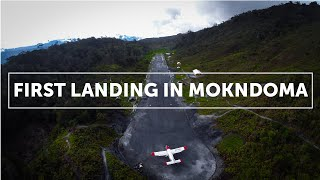 Repeat youtube video First Landing in Mokndoma (Papua, Indonesia)