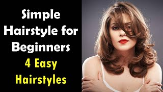 Quick & easy college hairstyles | Beginner Hairstyles | Medium Hair Hairstyle | KGS Hairstyles