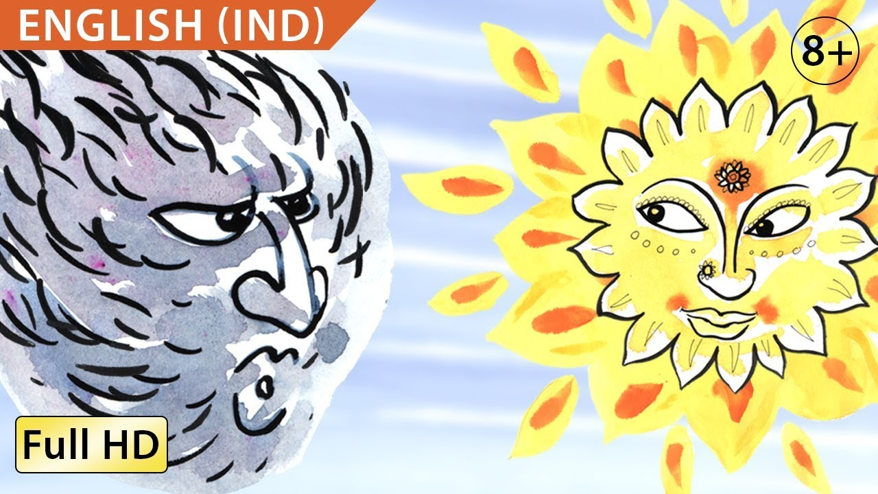 The Wind And The Sun Learn English Ind With Subtitles  Story For  Bookbox Bookboxenglish Learnread