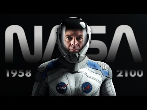 NASA 1958 - 2100 (Timelapse of past & future technology)