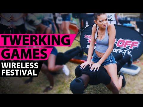 Twerking Games Highlights @ Wireless Music Festival 2016