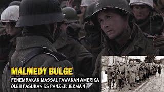 Malmedy Battle Bulge 1944, SS Panzer Jerman Tembaki Tawanan Amerika, AS Balas Tembaki Tawanan Jerman