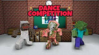 MONSTER SCHOOL : DANCE COMPETITION CHALLENGE - MINECRAFT ANIMATION