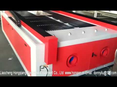 HQ1325M CO2 Mixed Laser Cutter For Metal and Non metal With TBI Ball Screw Transmission/1300*2500mm