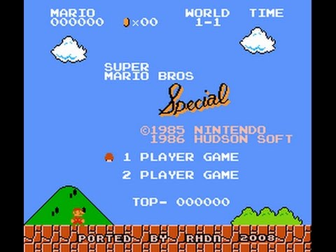 Super Mario Bros. Special (SMB1 Hack)