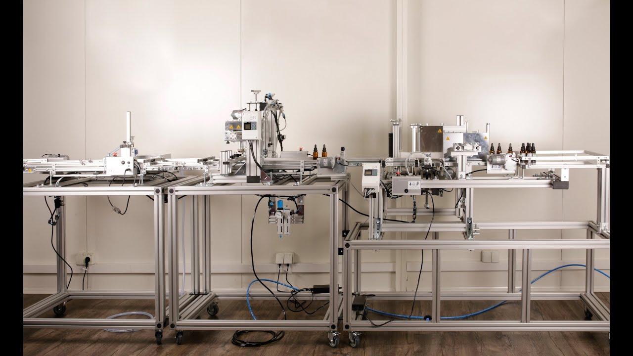 Abfüll- , Verschluss-  & Etikettierlinie universal - InnTecFlow GmbH