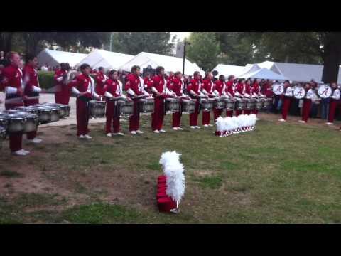 Alabama Drumline Breakdown
