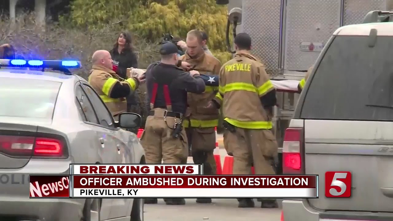 Man Wanted In Kentucky Officer's Killing