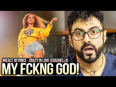 REAGINDO a Beyoncé - Crazy In Love no Coachella -  1